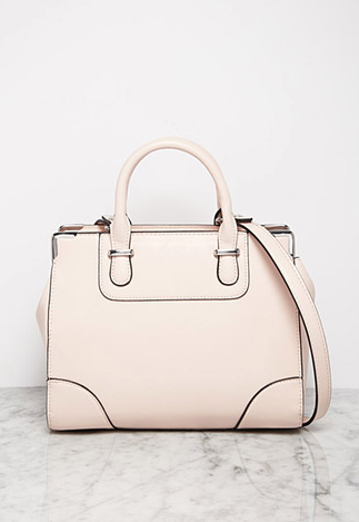 Screenshot of the Faux Leather Satchel from Forever 21.