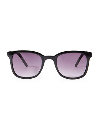 Screenshot of the Metal-Accented Square Sunglasses from Forever 21.