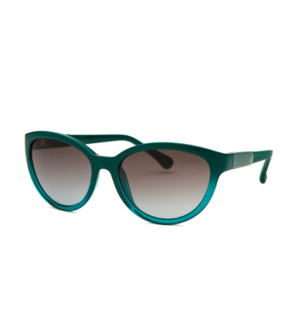 The Calvin Klein Women's Cat Eye Teal Sunglasses, found on Bluefly.com.