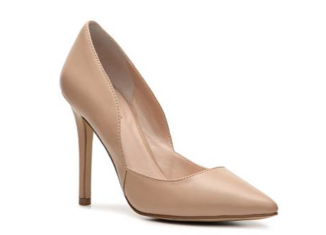 The Charles by Charles David Parker Leather Pumps, found on DSW.com.