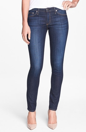 The AG Stilt Cigarette Leg Jeans in Free, found on Nordstrom.com.