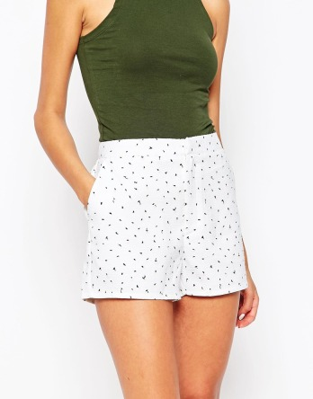 The First & I Polka Dot Shorts, found on Asos.com.