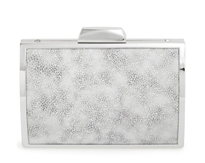 The Glint Embossed Minaudiere, found on Nordstrom.com.