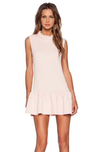 The Fifth Label Lonely Sea Dress in Blush, found on RevolveClothing.com.