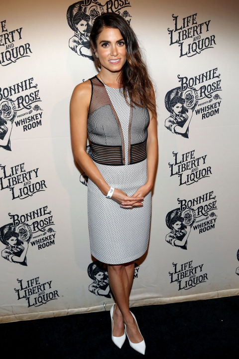 Photo credit Getty, found on Cosmopolitan.com. Nikki Reed at the Bonnie Rose White Whiskey launch.