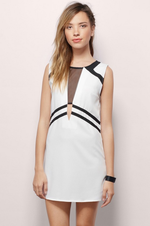 The Shape Shifter Mini Dress, found on Tobi.com.