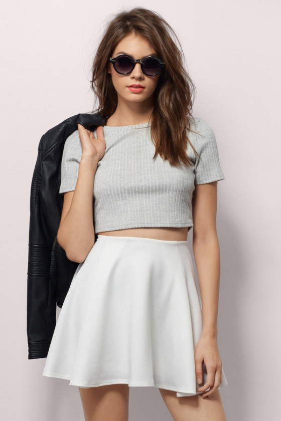The Drifting Away Together Skirt, found on Tobi.com.