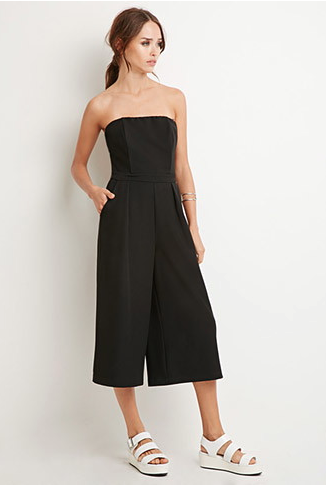 The Strapless Wide-Leg Jumpsuit, found on Forever21.com.