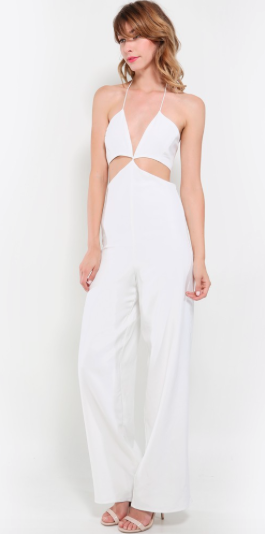 The Taylor Cutout Jumpsuit, found on MakeMeChic.com.