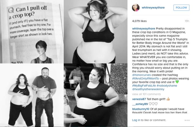 Instagram / @whitneywaythore