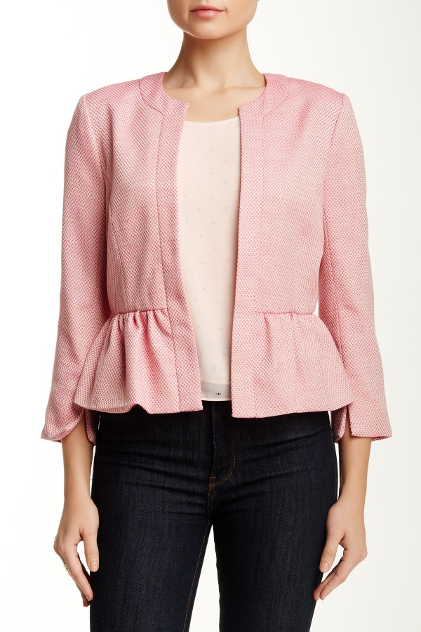 The 1. State Candy Tweed Cropped Blazer, found on NordstromRack.com.