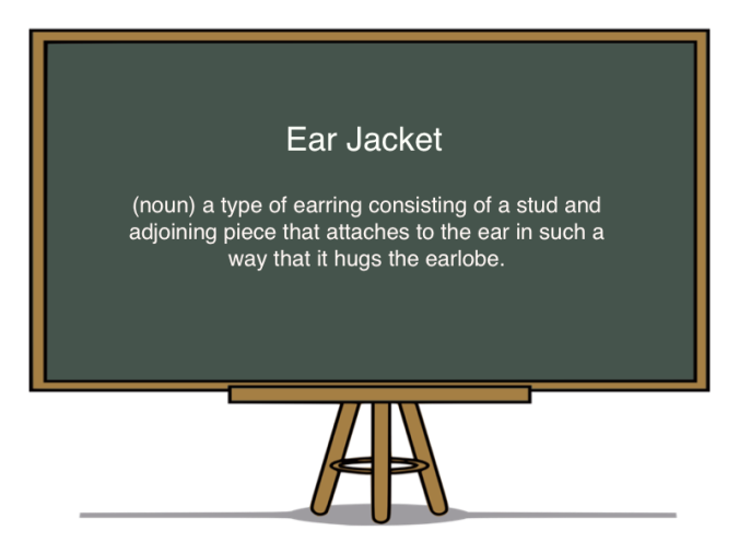 def of an ear jacket