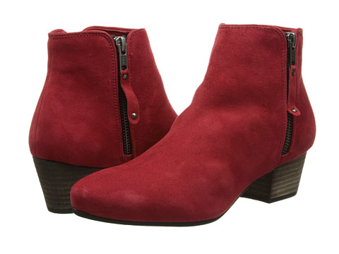 The Diba Oh Sage Red Suede Booties, found on 6pm.com.