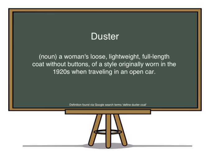 duster def