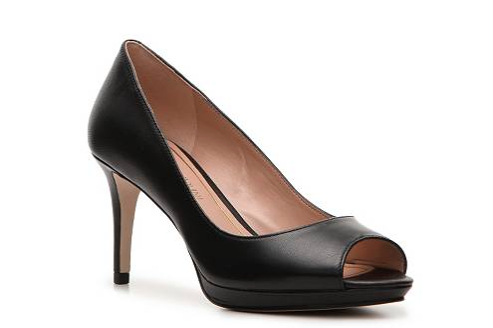 The Enzo Angiolini Gelabelle Platform Pump, found on DSW.com.