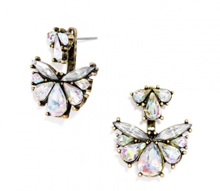 The Flutter Ear Jackets Earring, found on BaubleBar.com.