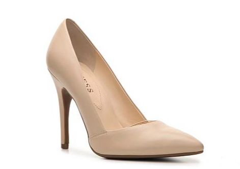 The Guess Lavonna Pump, found on DSW.com.