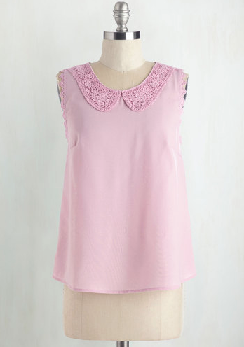 The Fetching Finesse Top, found on Modcloth.com.