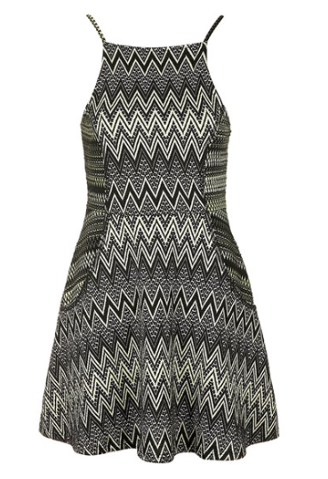 The Topshop Zigzag Tunic Dress, found on Nordstrom.com.