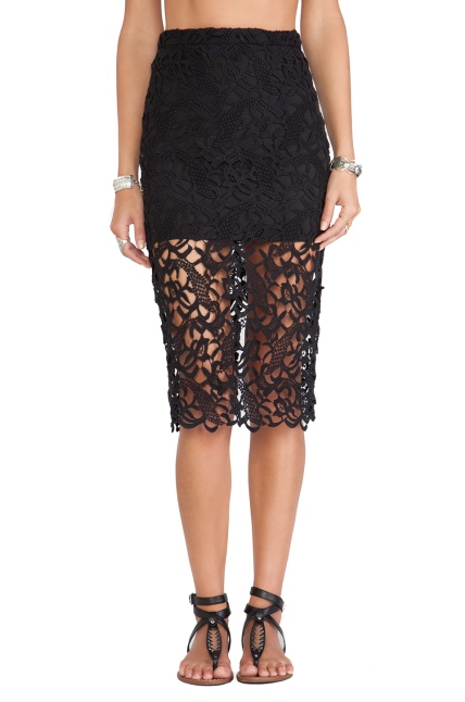 The Tularosa Free Midi Skirt, found on RevolveClothing.com for $44.