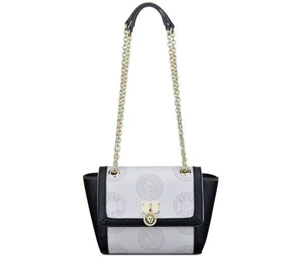 The Anne Klein New Recruits Perforated Crossbody, found on Macys.com.m