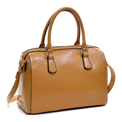 The Dasein Barrel Removable Shoulder Strap Body Satchel, found on Overstock.com.