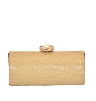 The SASHA Metallic Embossed Box Clutch, found on LordandTaylor.com.