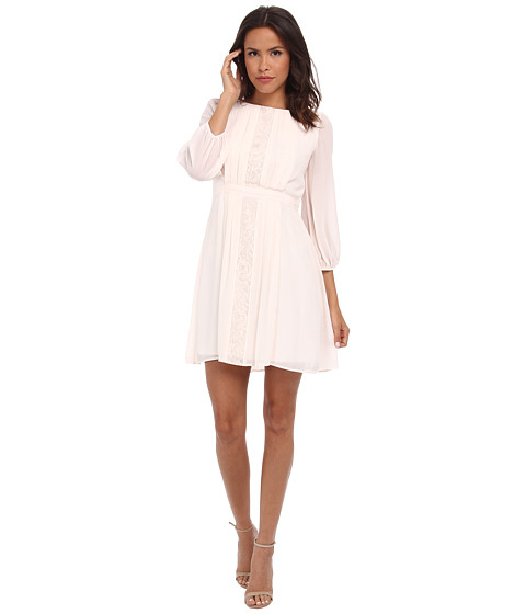 The Jessica Simpson 3/4 Sleeve Chiffon Dress, found on Zappos.com.