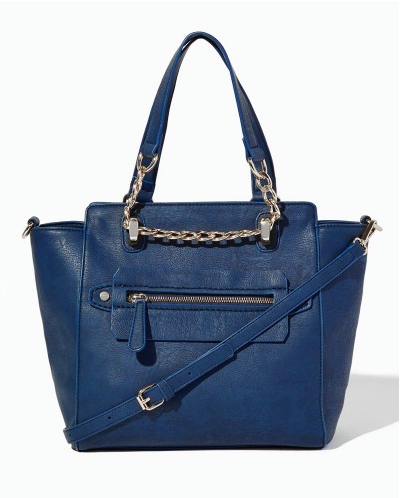The Nyssa Chain Satchel, found on CharmingCharlie.com.