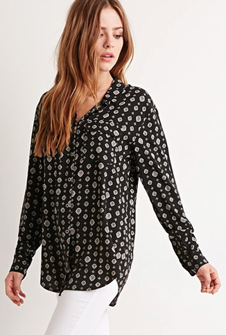 The Diamond Print Shirt, found on Forever21.com.