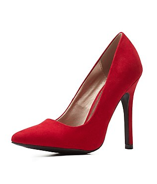 The Single Sole Pointed Toe Pumps, found on CharlotteRusse.com.