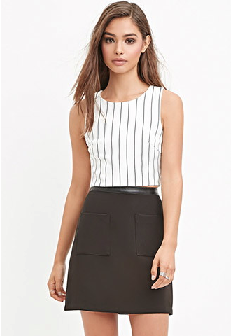 The Patch Pocket Mini Skirt, found on Forever21.com.