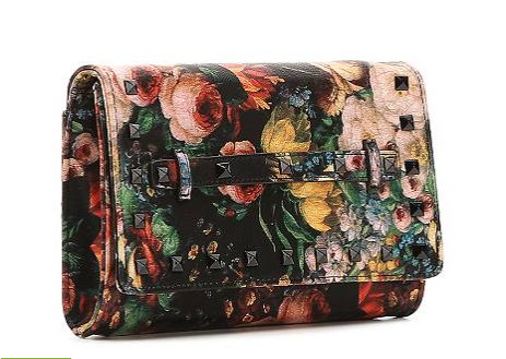 The Steve Madden Noelle Floral Clutch, found on DSW.com.