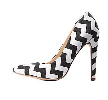 charlotte russe zigzag shoe
