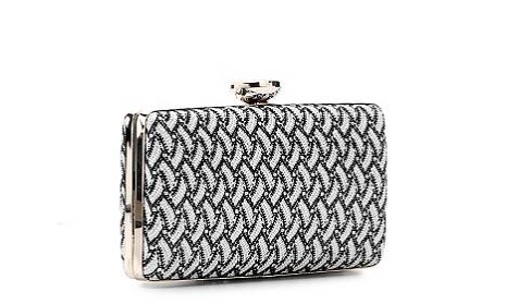 The Lulu Townsend Noelle Clutch, found on DSW.com.
