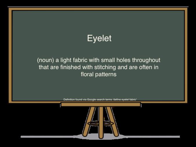 eyelet def